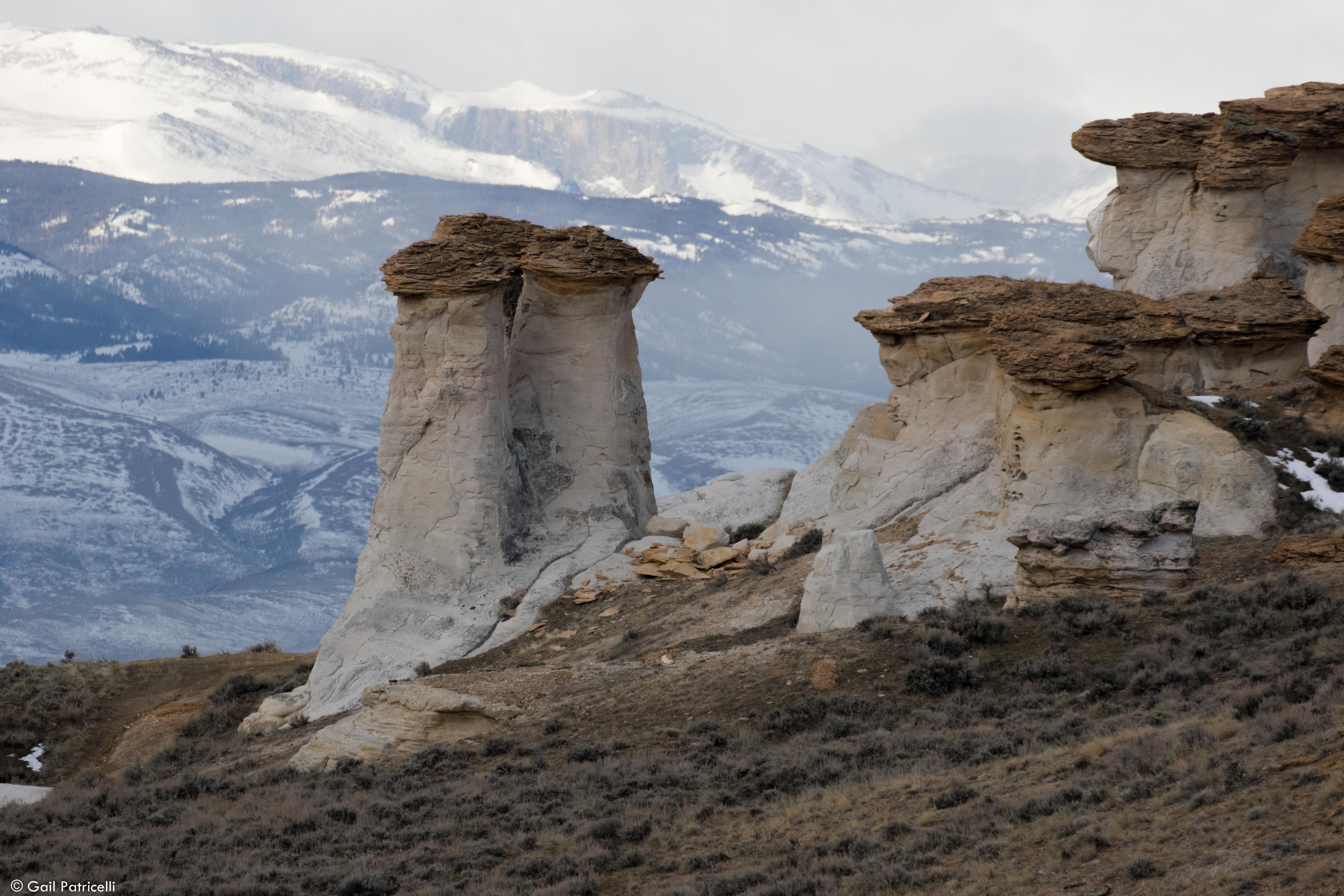 Monument rocks near camp, 2017