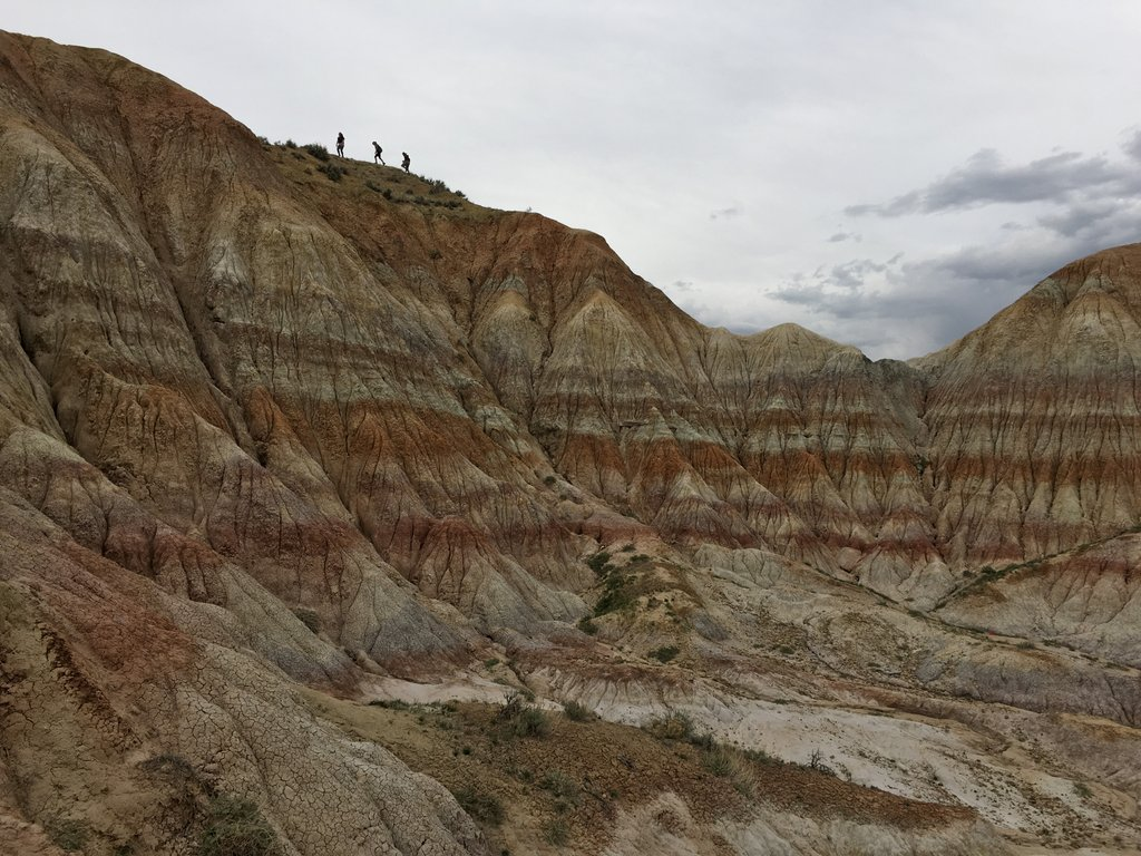 Visit to a badlands patch, 2016